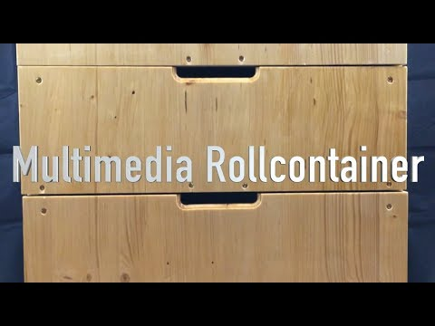 Trailer: Multimedia Rollcontainer